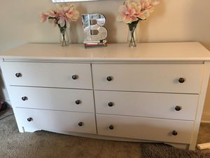 Stylish wood dresser - great condition for Sale in Richmond, VA