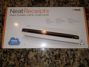 Neat Receipts scanner for Sale in Plantation, FL
