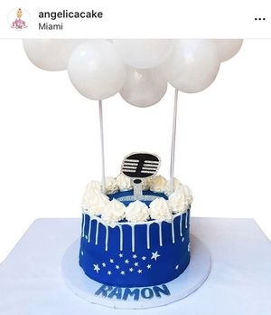 Birthday cake balloons for Sale in Miami, FL