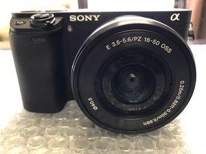 Sony Alpha 6300 4K brand new never used.....$450...... pickup only..... first come first serve........ for Sale in Fontana, CA
