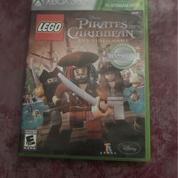 LEGO Pirates of the Caribbean game xbox 360 for Sale in Stockton,  CA