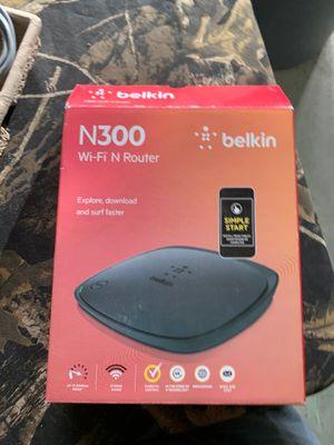 Belkin N300 Wireless N Router (Latest Generation) (F9K1002 for Sale in Hacienda Heights, CA
