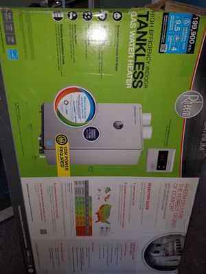 Brand new rheem tankless water heater for Sale in Columbus, OH