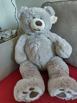 "Hugfun 25"" Plush Teddy Grey Bear for Sale in San Diego, CA"