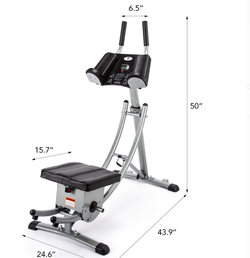 Deluxe Abdominal Crunch Coaster Fitness Equipment for Sale in Ontario,  CA