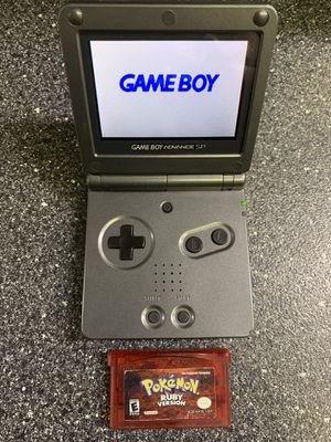 Nintendo Gameboy Sp 101 Mode With Charger and Pokémon for Sale in Lakewood, OH