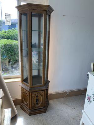 Antique Curio Cabinet for Sale in North Miami, FL