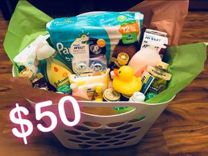 Baby gift basket for Sale in Dallas, TX