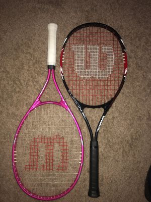 His & Hers Tennis rackets for Sale in Severn, MD
