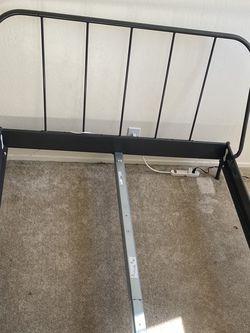 Semi New IKEA Gray Frame Bed for Sale in Vallejo,  CA