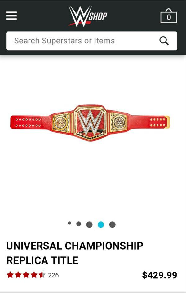 Authentic WWE BELT