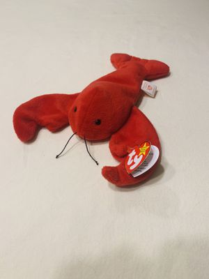 """""""Pinchers"""" red lobster TY Beanie Baby Style 4026 1993 for Sale in Austin, TX"""