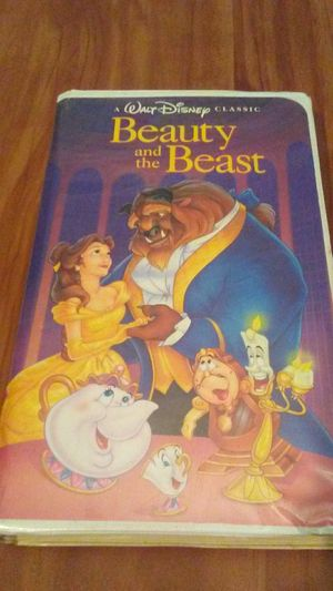 Disney's Beauty and the Beast First Edition VHS for Sale in Rochester, NY