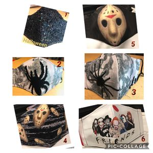 Halloween themed face coverings ....Boooo! for Sale in East Providence, RI