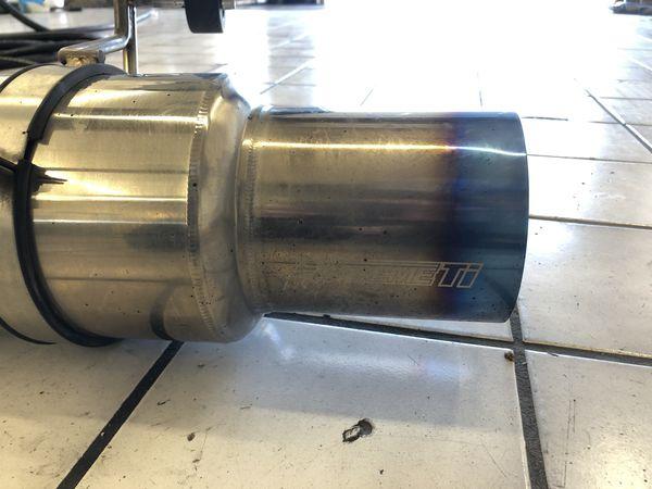 Tomei Expreme Ti Titanium Catback Exhaust Subaru WRX STI