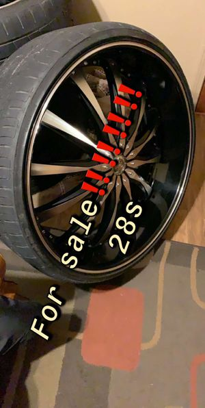 28 inch rims for Sale in Humboldt, TN