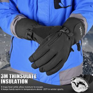 Medium Waterproof Black Ski Gloves for Sale in Littlerock, CA