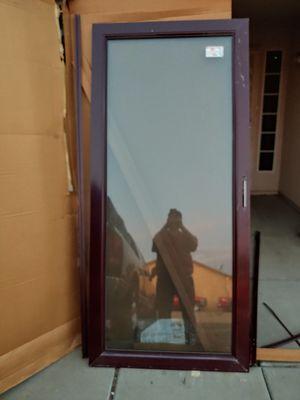 $150.00 full glass full screen full frame aluminum storm door for Sale in Mesa, AZ