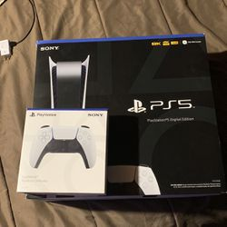Ps5 With Additional Controller for Sale in Harper Woods,  MI