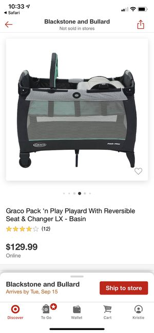 Graco Pack 'n Play® Playard with Reversible Seat & Changer LX for Sale in Fresno, CA