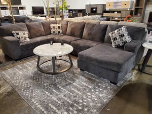 Sectional Sofa (Ottoman/Coffee Table is not included), Smoke for Sale in Santa Ana, CA