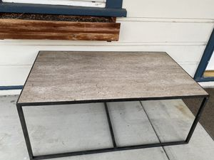 Set of Metal and Tile 2 Side Tables and 1 Coffee table for Sale in Fremont, CA