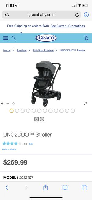 Grago Stroller 5 in 1 for Sale in Fort Myers, FL