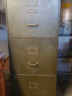 AllSteel 3 Drawer Locking File Cabinet for Sale in Rancho Santa Margarita,  CA