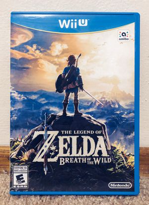 Zelda: Breath of the Wild for Wii U for Sale in San Diego, CA