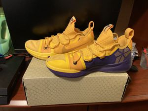 Nike Kobe AD Yellow and Purple size 13 for Sale in Farmville, VA