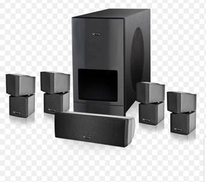 MORENTZ MZ-7 5.1 HD HOME THEATER SUBWOOFER AND SPEAKERS SYSTEM for Sale in Pacific Grove, CA