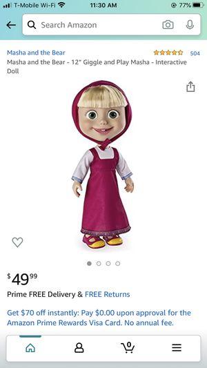 Masha doll for Sale in West Linn, OR