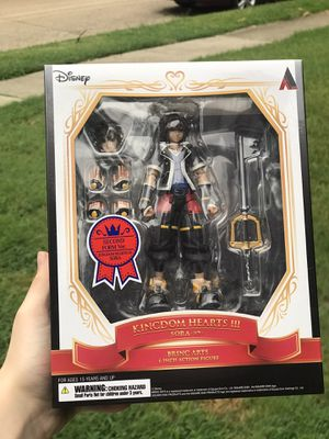 Kingdom Hearts 3 Sora Brings Arts 2nd Form Action Figure for Sale in Plano, TX