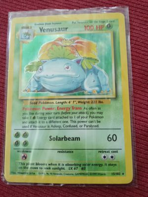 VENUSAUR Pokemon holographic near mint condition for Sale in NEW PRT RCHY, FL