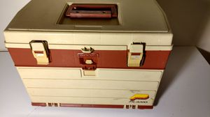 Plano brand model 757 4 drawer fishing tackle box with dividers for Sale in Columbus, OH