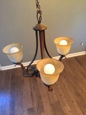 Bronze Chandelier Light for Sale in Chesapeake, VA