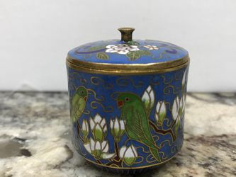 Tiny Cloisonné Lidded Pot for Sale in Tualatin,  OR