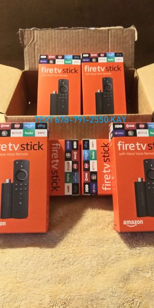[Fire TV Stick] Amazon [Live channels] Best on offerup for Sale in Atlanta, GA
