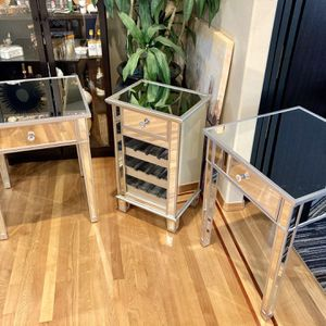 Two Mirrored Side Tables for Sale in Lynnwood, WA