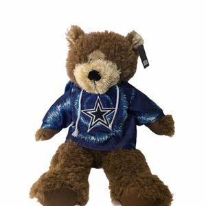 Dallas Cowboys NFL Authentic 21 inch Teddy Bear - NWT for Sale in Bloomfield, NJ