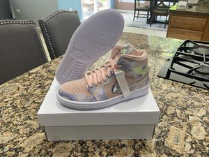 Jordan retro 1 mid Pherspective size 7.5 (W) 100% authentic for Sale in Laurel, MD