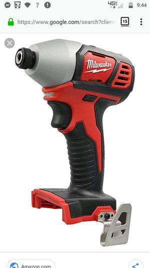 Milwaukee M18 Impact Used Good Condition Power Tool Cordless for Sale in Marysville, WA