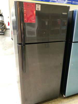 <//>New frigidaire black stainless 18 cuft top freeze refrigerator #//#️ for Sale in Gilbert, AZ