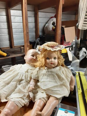 Antique wooden dolls for Sale in Tampa, FL