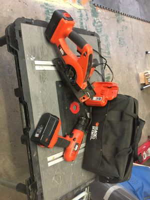 Cordless drill and saw for Sale in Lakewood, CO