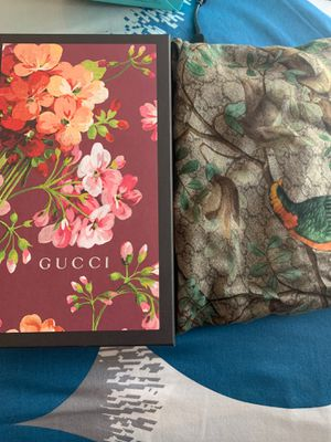 Authentic Gucci Silk Scarf for Sale in Springfield, VA