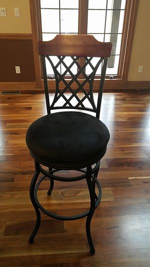 Wood and Iron Bar Stools for Sale in Twinsburg, OH