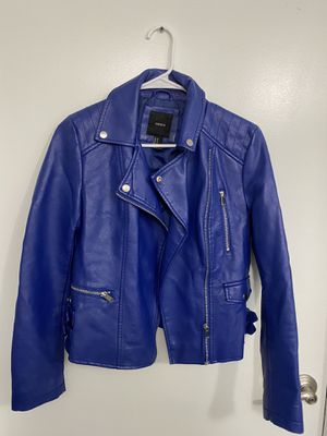 Royal Blue Forever 21 jacket size M for Sale in Los Angeles, CA
