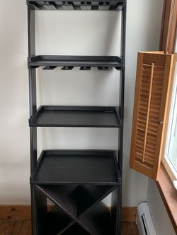 Angled Bar Console/ Shelving for Sale in Morristown,  NJ