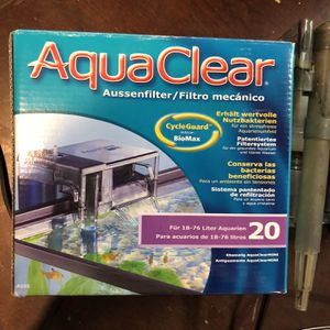 AquaClear Aquarium Filter for Sale in Sacramento, CA